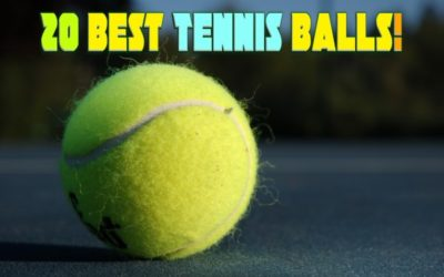 20 Best Tennis Balls Reviews In 2020: With Complete Buying Guide