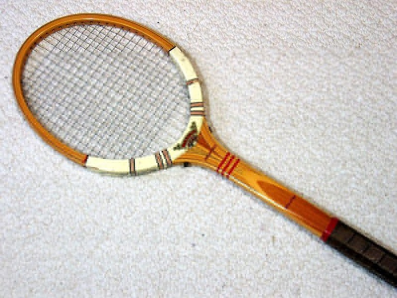Heavy handle racket