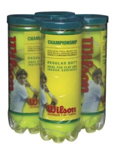 Wilson Championship Regular Duty Tennis Balls
