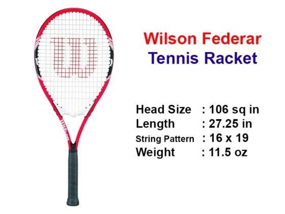 Wilson Fererar Racket