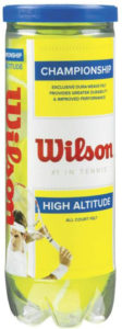 Wilson High Altitude Tennis Balls