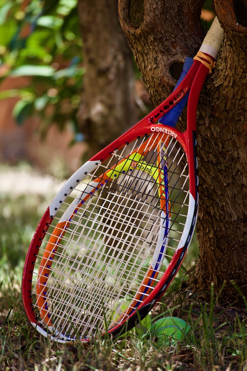 Modern player's racquets